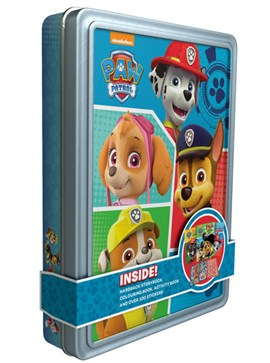 Happy Tin New Nickelodeon Paw Patrol (FS) by Parragon Books Ltd