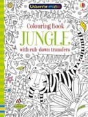 Colouring Book Jungle with Rub Down Transfers