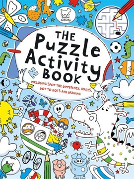 The Puzzle Activity Book by