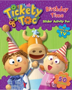 Birthday Time Sticker & Activity Book by