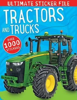 Tractors and Trucks Ultimate Sticker File by Make Believe Ideas