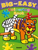 Big & Easy Colouring Books: Tiger