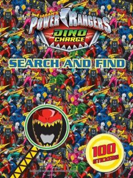 Power Rangers Search and Find by