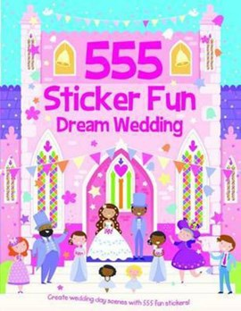 555 Sticker Fun Dream Wedding by Oakley Graham