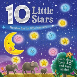 10 Little Stars Board Book (FS) by