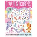 I Love Unicorns Puffy Sticker Activity
