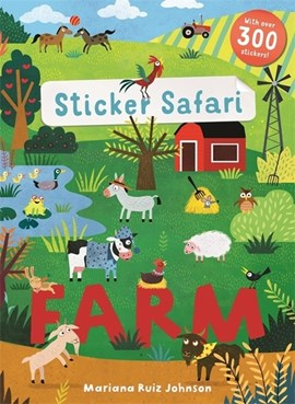 Sticker Safari: Farm by Mariana Ruiz Johnson