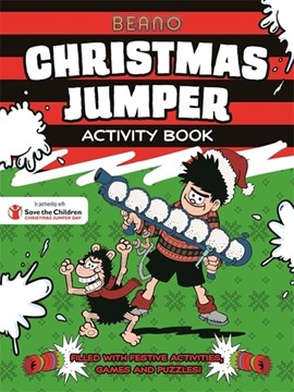 Beano Christmas Jumper Activity Book by Beano Studios Limited