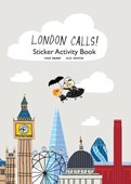 London Calls Sticker Book