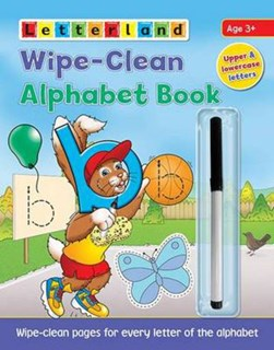 Wipe-Clean Alphabet Book by Lyn Wendon