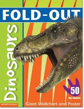 Fold-Out Dinosaurs Sticker Book by Dominic Zwemmer
