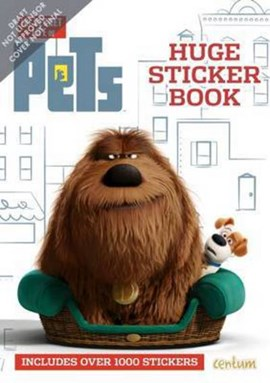 Secret Life of Pets 1000 Sticker Book (FS) by