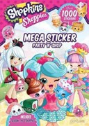 Shopkins Shoppies Mega Sticker Book