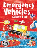 Scribblers Fun Activity Emergency Vehicles Sticker Book