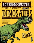 Boredom Buster Puzzle Activity Book of Dinosaurs