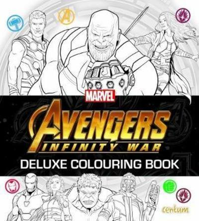 Avengers Infinity War Deluxe Colouring Book Fs Centum