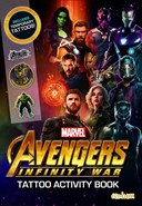 Avengers Infinity War - Tattoo Activity Book