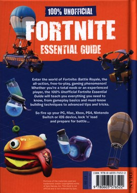 100% unofficial Fortnite essential guide by Dean & Son