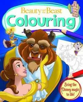 BEAUTY AND THE BEAST: Colouring Book by Igloo Books