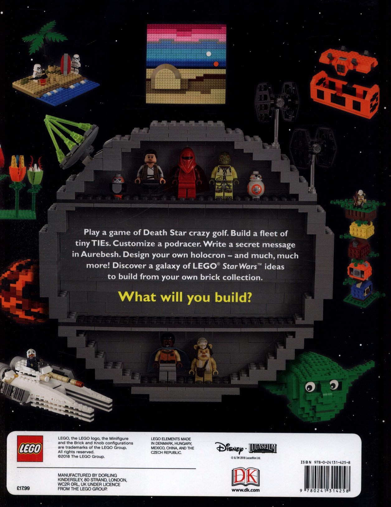 LEGO Star Wars Ideas Book DK - Design your own character games