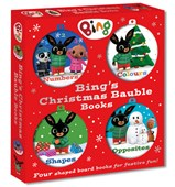 Bing's Christmas bauble books