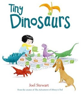 Tiny dinosaurs by Joel Stewart