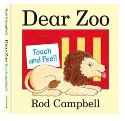 Dear Zoo Touch & Feel Book by Rod Campbell