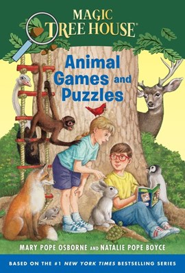 Animal Games and Puzzles by Mary Pope Osborne