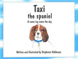 Taxi the spaniel by Stephanie Hobhouse