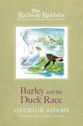 Barley and the duck race by Georgie Adams
