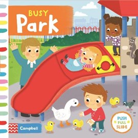 Busy park by Louise Forshaw