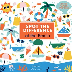 Spot the difference at the beach by Naomi Wilkinson