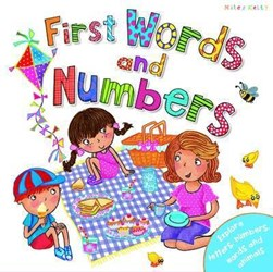 First Words And Numbers H/B (FS) by Miles Kelly