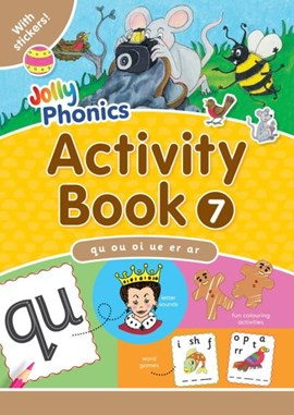 Jolly Phonics Activity Book 7 by Sara Wernham