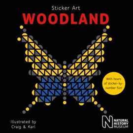 Sticker Art Woodland by Natural History Museum