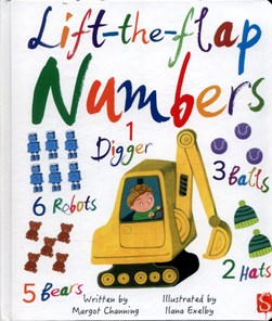 Lift-the-flap numbers by Margot Channing