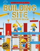 Scribblers Fun Activity Building Site Sticker Book