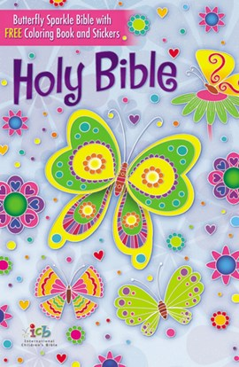 The Butterfly Sparkle Bible by Thomas Nelson