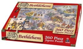 Look Inside Bethlehem Jigsaw by Mr Tim Dowley
