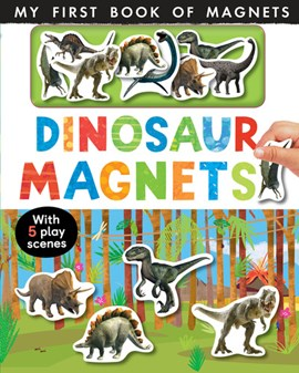 Dinosaur magnets by Nicola Edwards