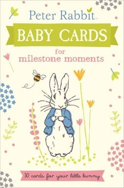 Peter Rabbit Baby Cards For Milestone Moments H/B by