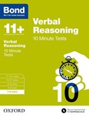 Verbal reasoning. 7-8 years 10 minute tests