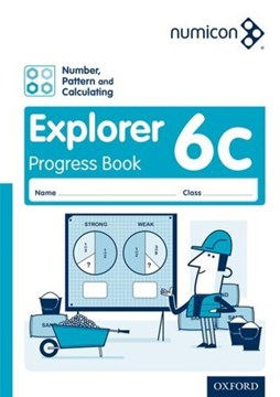 Numicon: Number, Pattern and Calculating 6 Explorer Progress Book C (Pack of 30) by Tony Wing