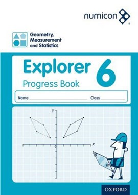 Numicon: Geometry, Measurement and Statistics 6 Explorer Progress Book (Pack of 30) by Andrew Jeffrey