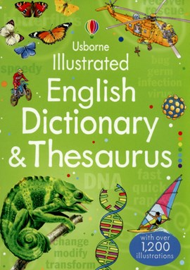 Usborne illustrated English dictionary & thesaurus by Jane Bingham
