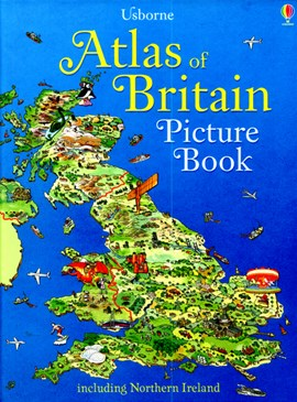 Atlas of Britain picture book by Stephanie Turnbull