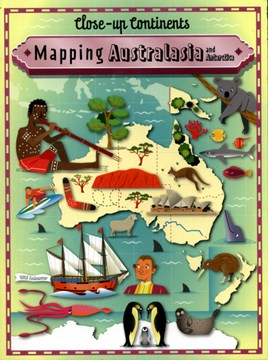 Mapping Australasia and Antarctica by Paul Rockett