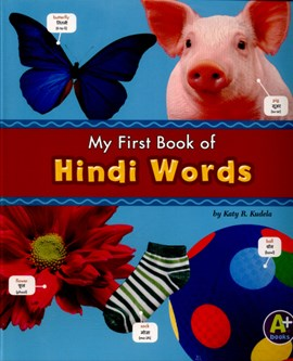 My first book of Hindi words by Katy R. Kudela