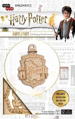 IncrediBuilds Emblematics: Harry Potter: Hufflepuff by Incredibuilds