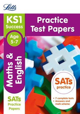 KS1 maths and English Practice test papers by Letts KS1